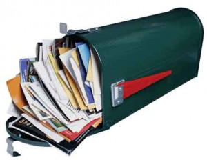 A good visualization of my email inbox